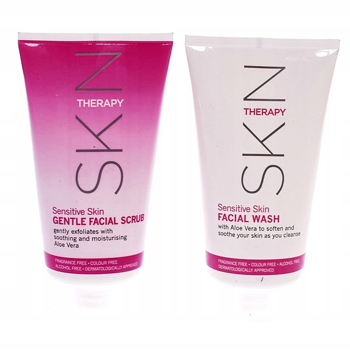9537-30 ...SKIN THERAPY... n#s SCRUB ZEL DO TWARZY