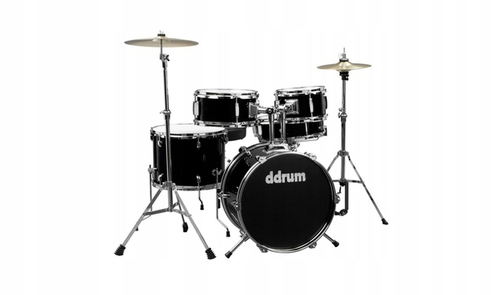 DDrum D1 Junior Black zestaw perkusyjny