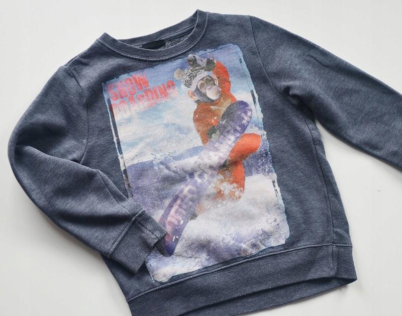 Bluza bawełniana chłopięca Next 116 cm