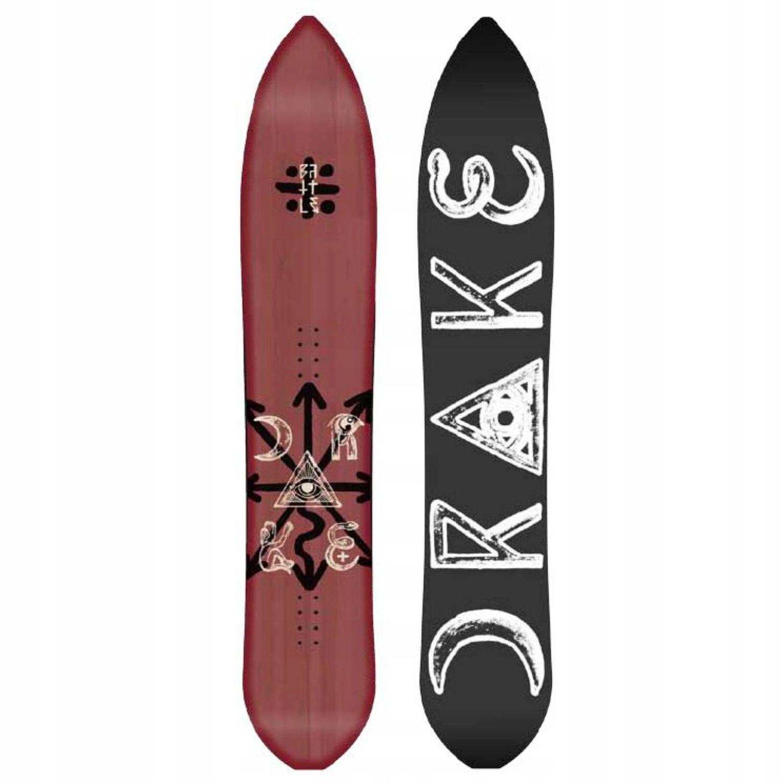 Deska snowboardowa Drake Battle 163cm