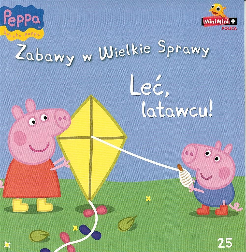świnka Peppa Zabawy W 25 Leć Latawcu 7354215615