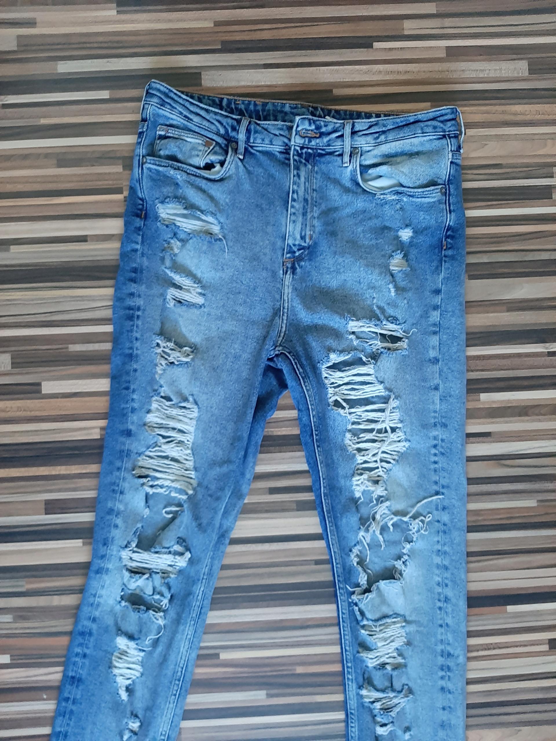 H&M spodnie jeansy męskie 32/32