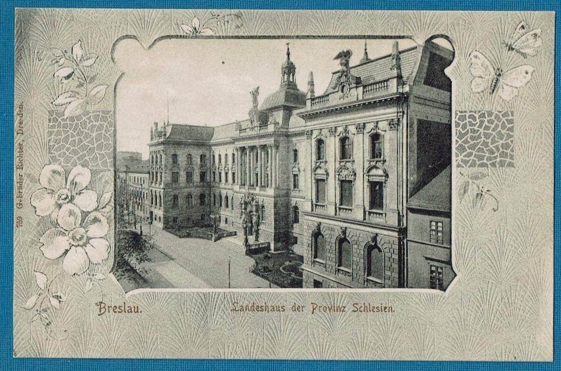 Wrocław. Breslau. NOT Piłsudskiego. Ozdobna.