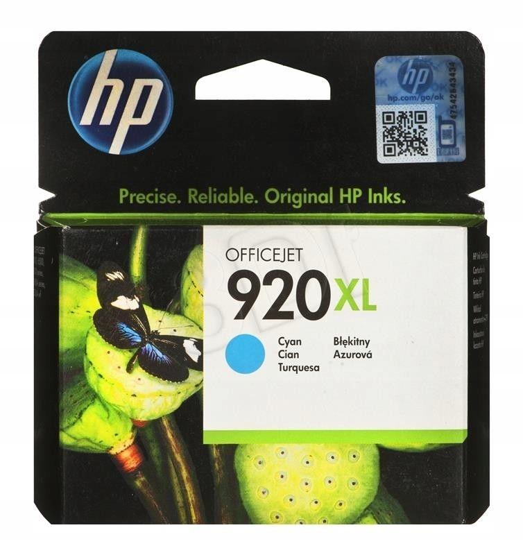 Tusz HP CD972AE (oryginał HP920XL HP 920XL 6 ml )