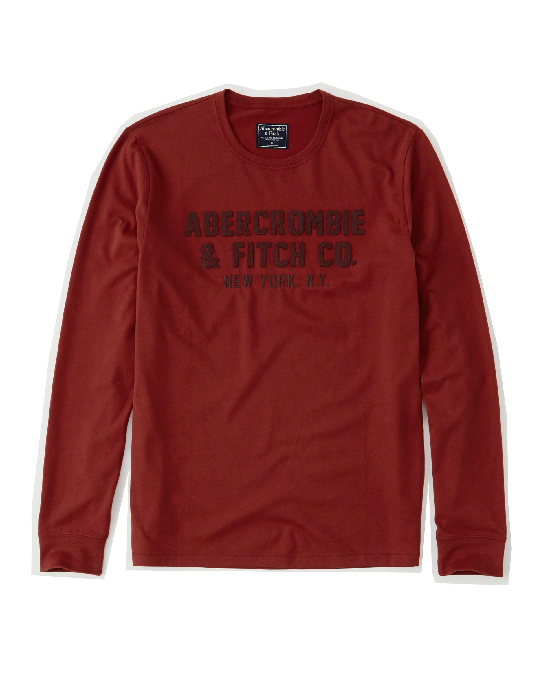 Abercrombie LONG SLEEVE S bluza koszulka