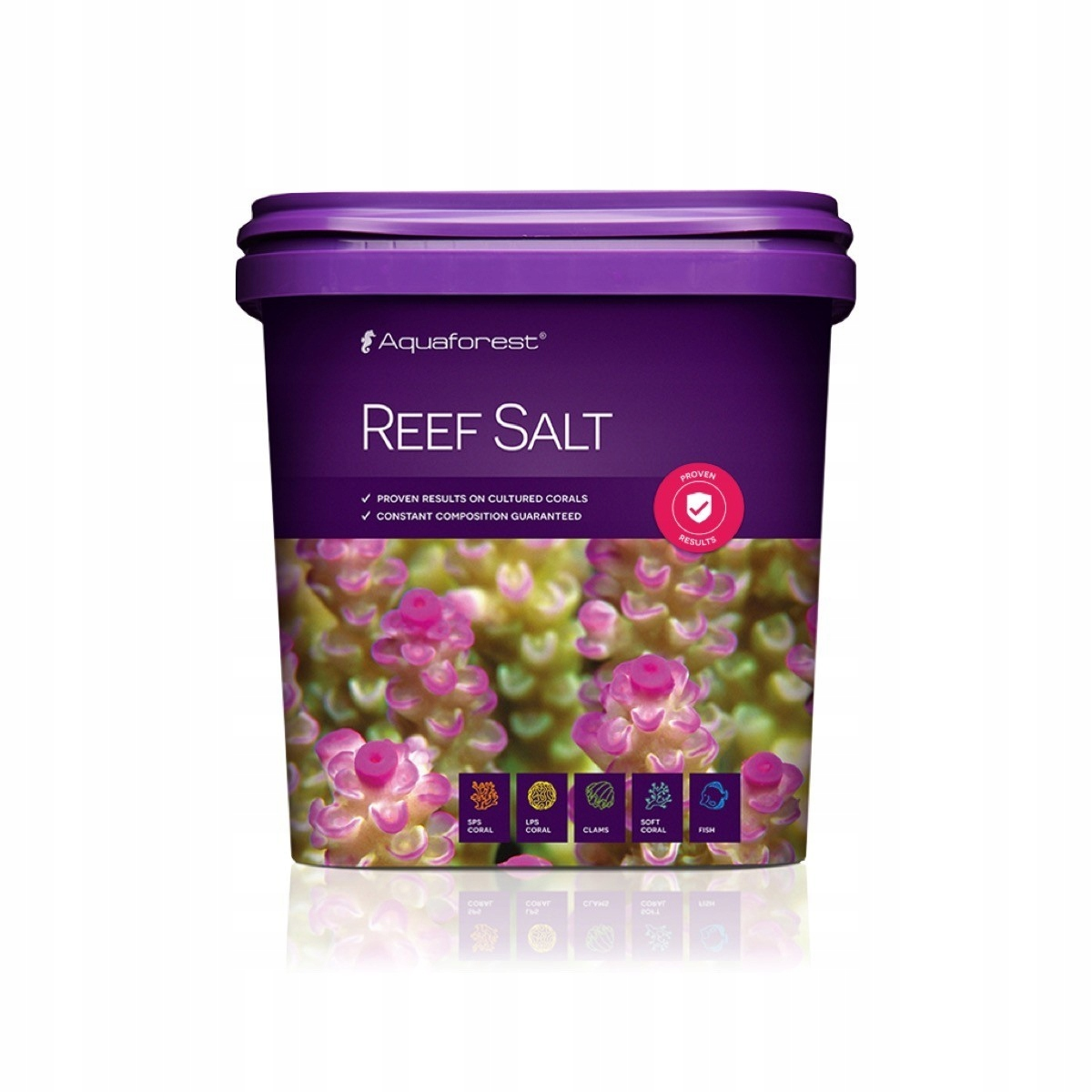 Powystawowa sól morska 5 kg do koralowców