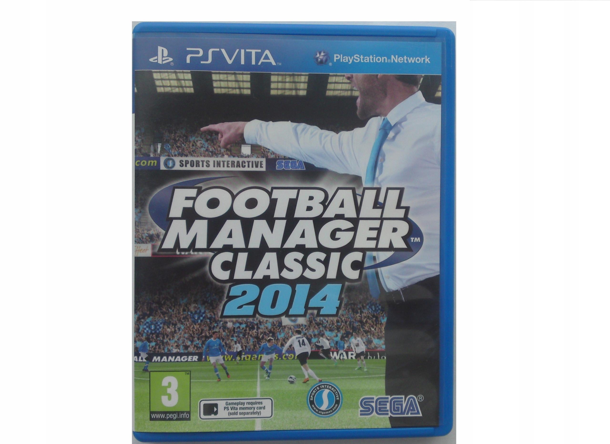 FOOTBALL MANAGER CLASSIC 2014 WERSJA PL - PS VITA