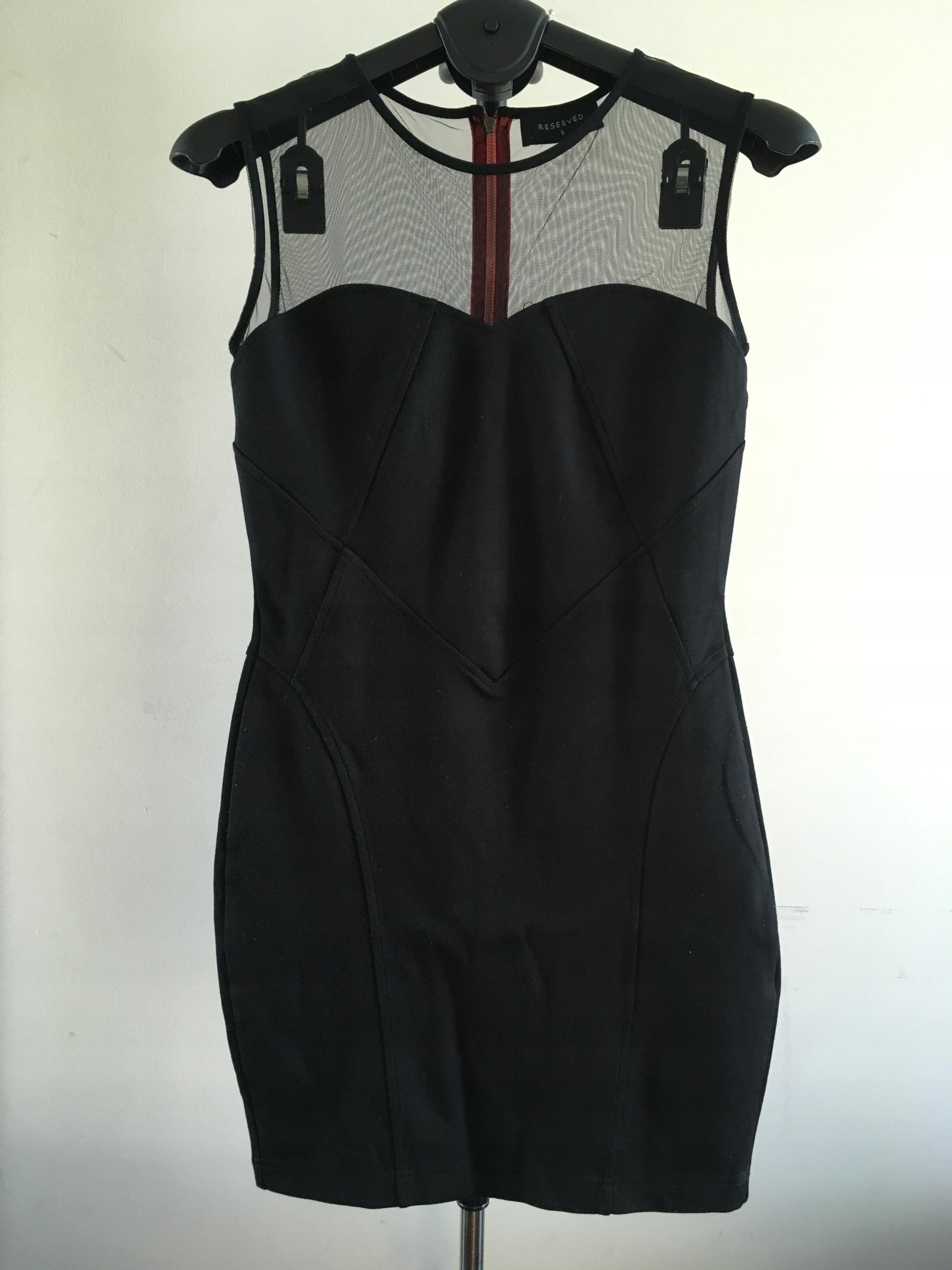 Sexy sukienka Reserved ZIP party 36 S