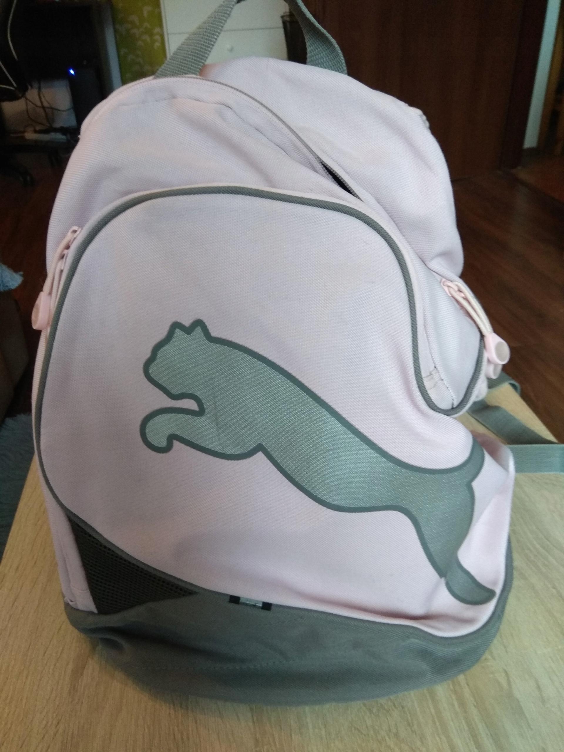 Plecak Puma różowy BCM