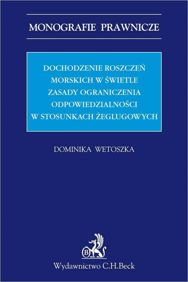 Dochodzenie roszczeń... Dominika Wetoszka