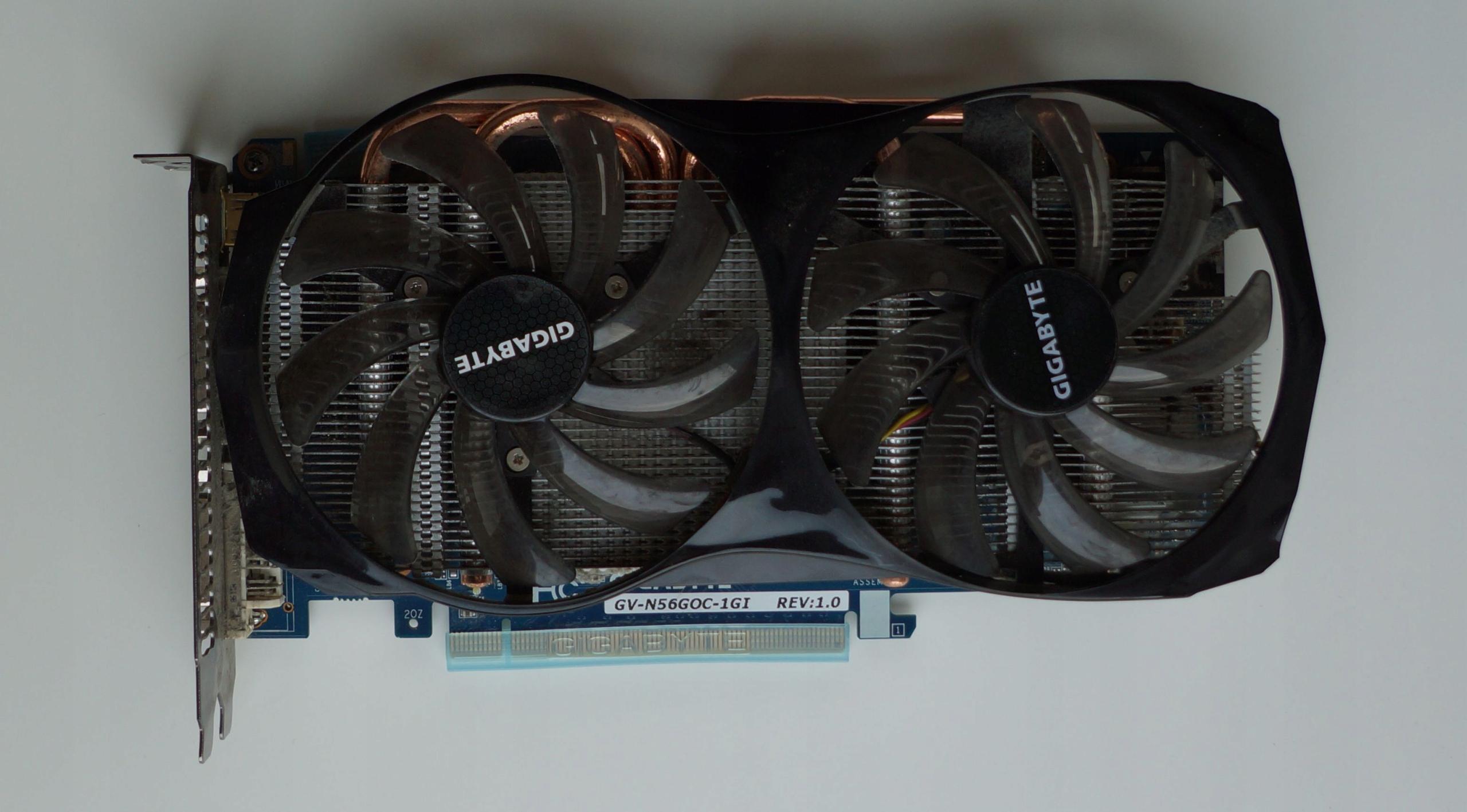 Karta Graficzna Nvidia Geforce Gtx 560 Gigabyte 7684343251