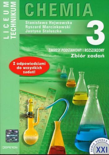 Chemia 3 Zbiór zadań Zakres podstawowy i