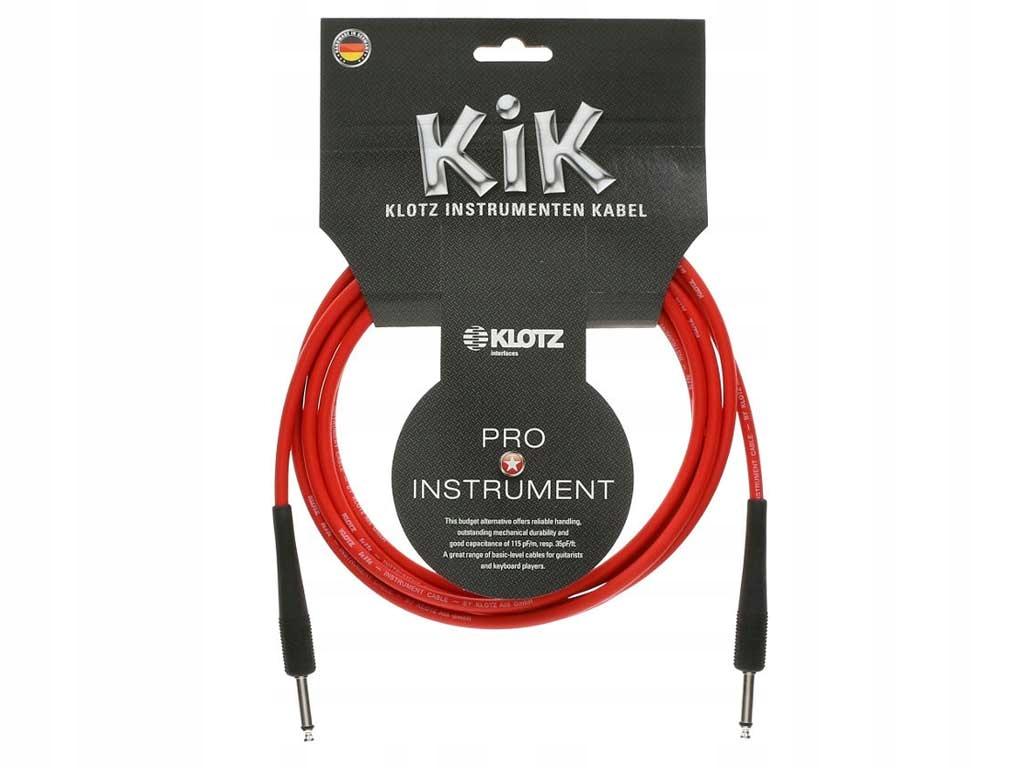 Kabel instrumentalny KLOTZ KIK6.0PPRT (6,0m )