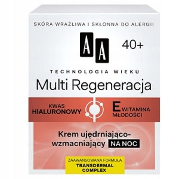 AA Technology Age 40+ Multi Regeneration Night Cre