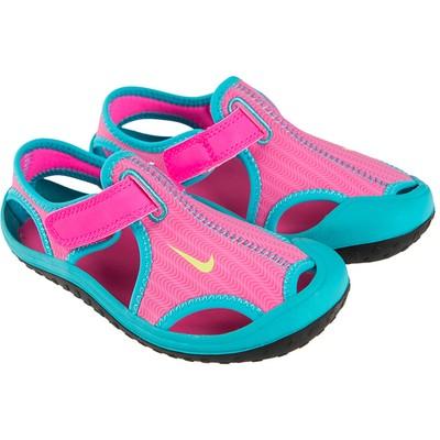 778c5f06a108 NIKE różowo turkusowe sandały rzep roz 34