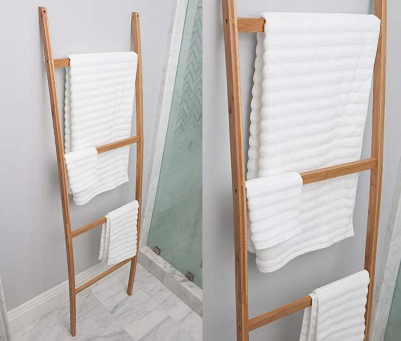 Bambusowy Wieszak Na Ręczniki Do łazienki 7720771689