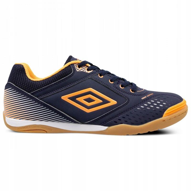 UMBRO (40,5) CHUTACO buty halowe halówki granatowe