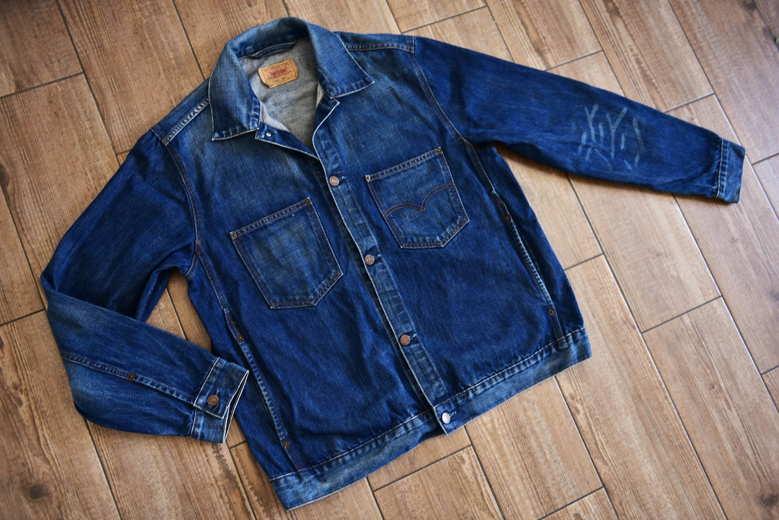 Levis _Vintage Denim Jacket Standard Fit 70511 R.L
