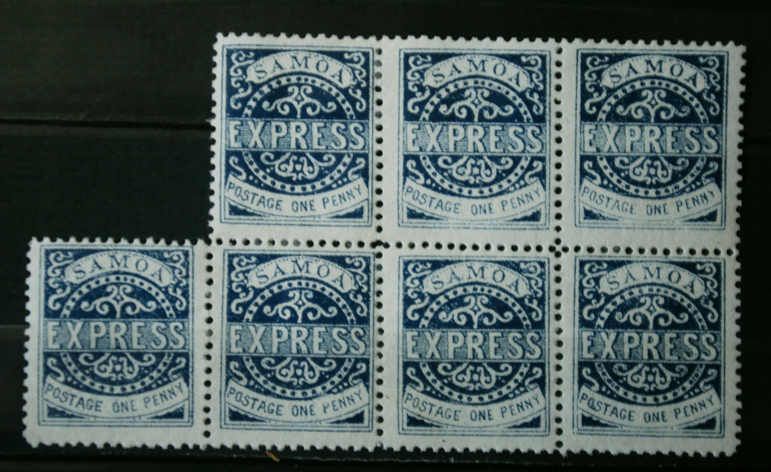 Samoa Express arkusik 1 penny