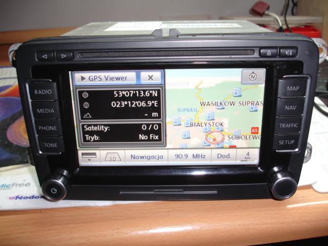 NAWIGACJA RADIO VW SEAT RNS 510 MAPA V16 2019r
