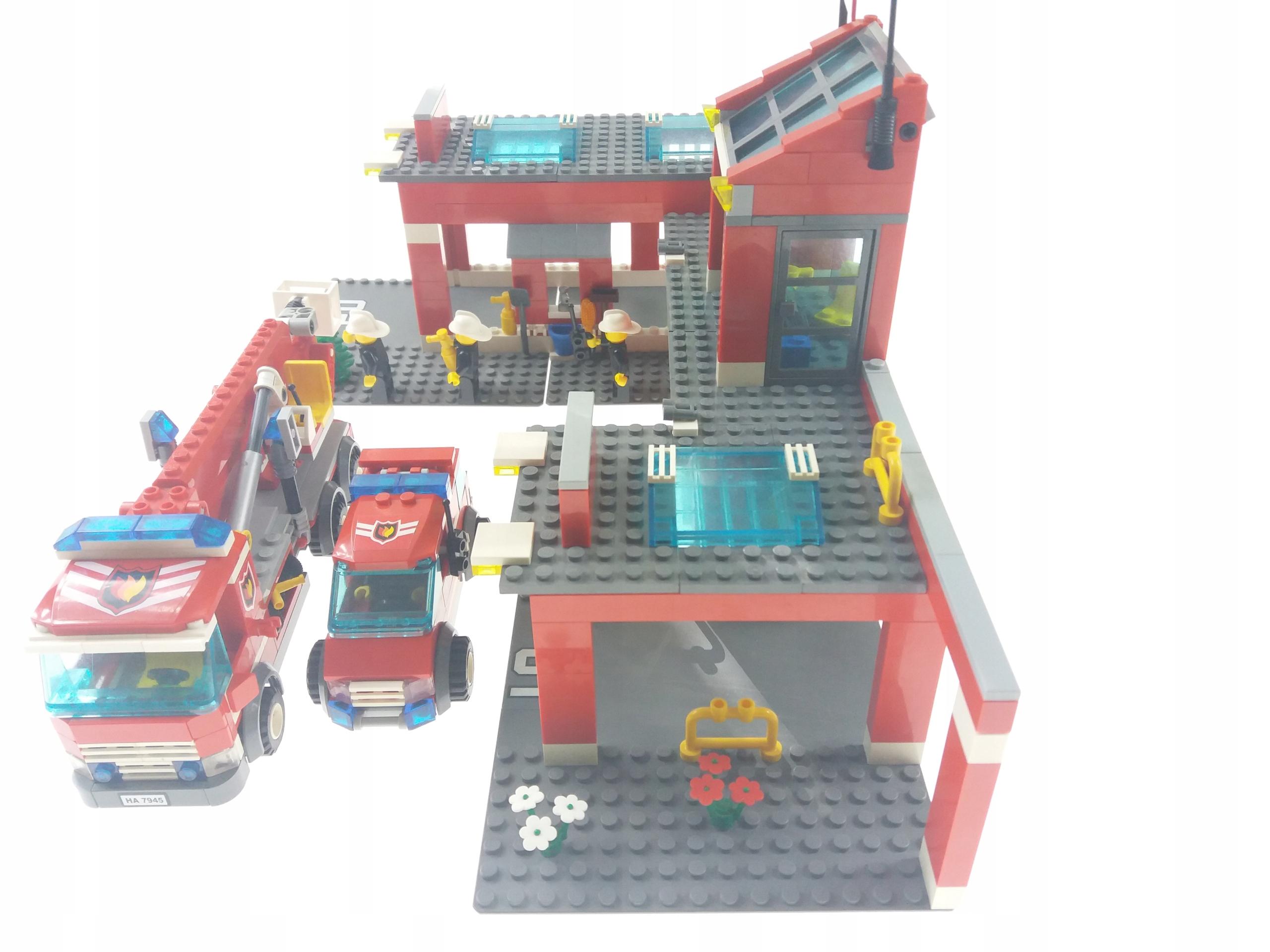 Lego City 7945 Fire Station Straż Pożarna 7741722478 Oficjalne