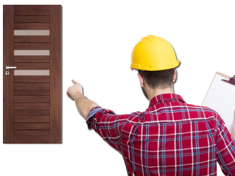 Drzwi Do łazienki Orzech Dre Fosca 4 Montaż 7115194761