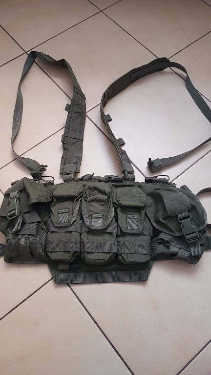 Kamizelka Helikon chest rig khaki