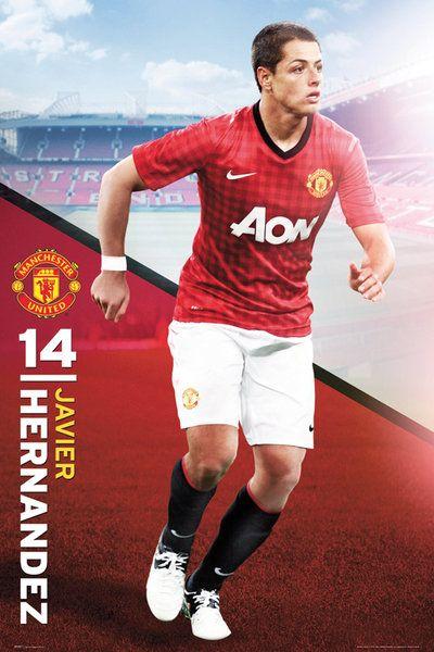 Manchester United Hernandez 12/13 - plakat