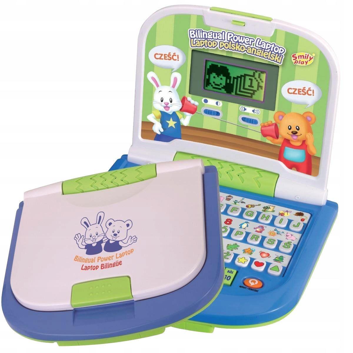 Smily Play Laptop Edukacyjny Dwujęzyczny 8030