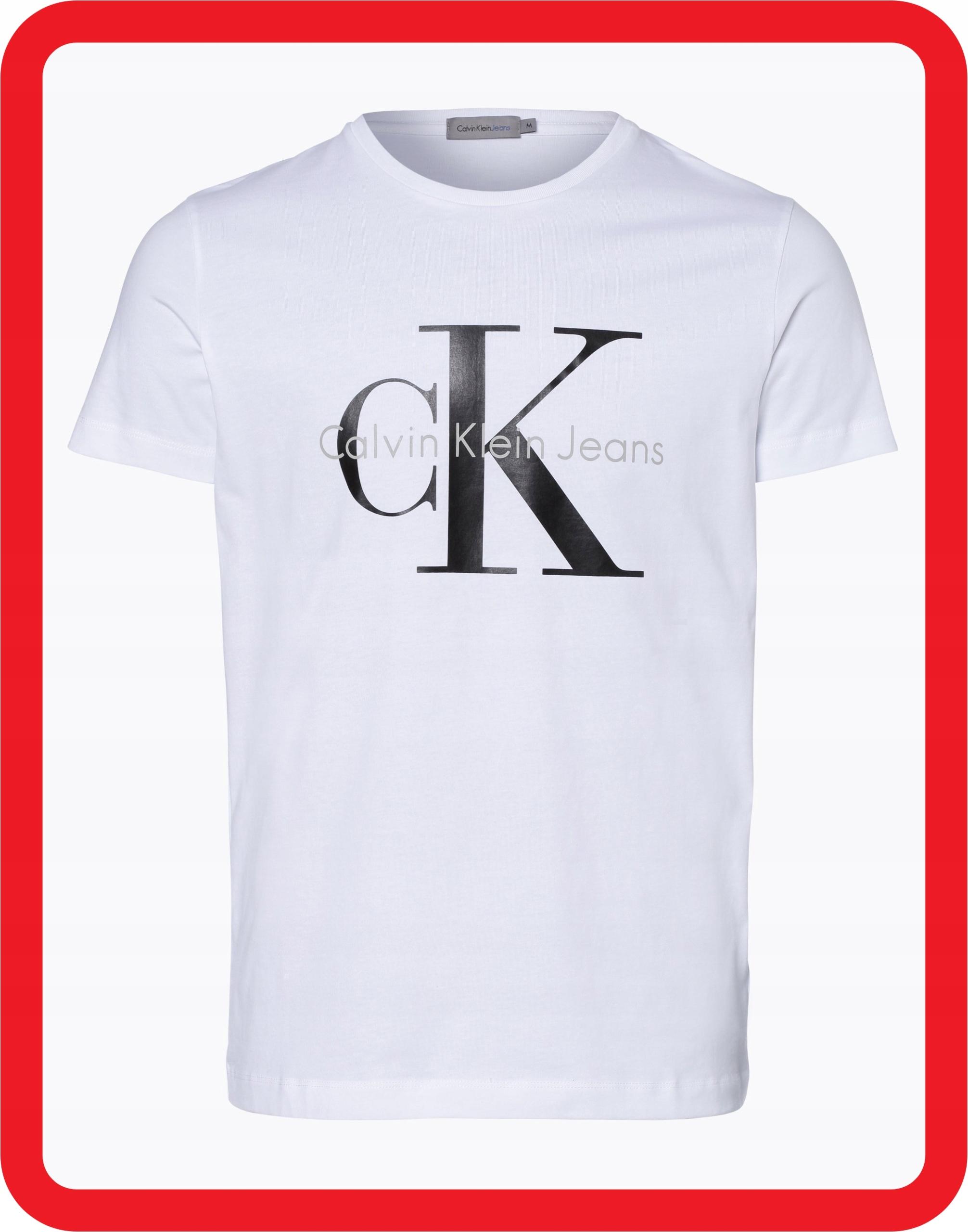 Calvin Klein T-Shirt Koszulka Męska M CK + PREZENT
