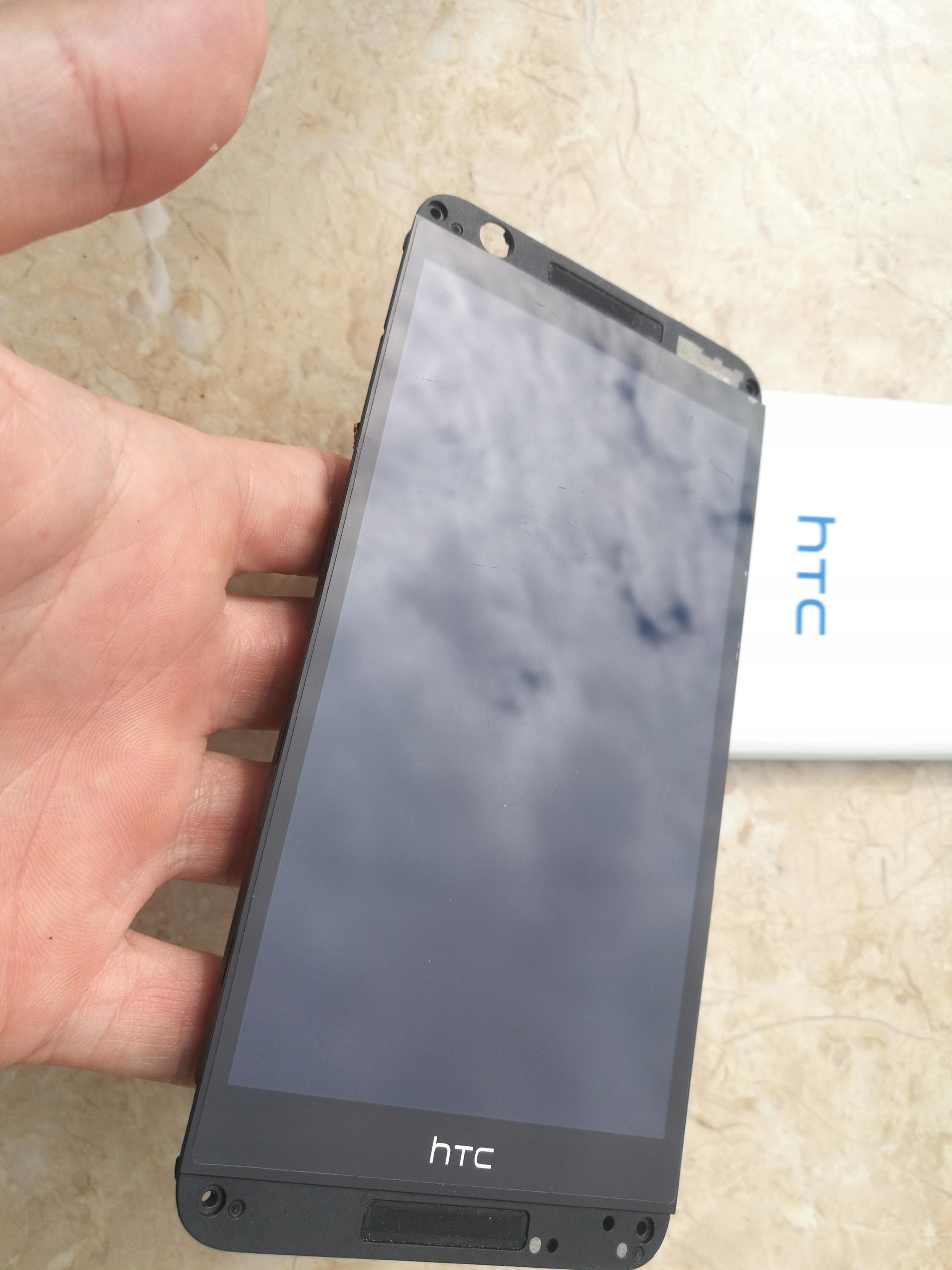 LCD z ramką htc 820 d820n LCD Wyświetlacz