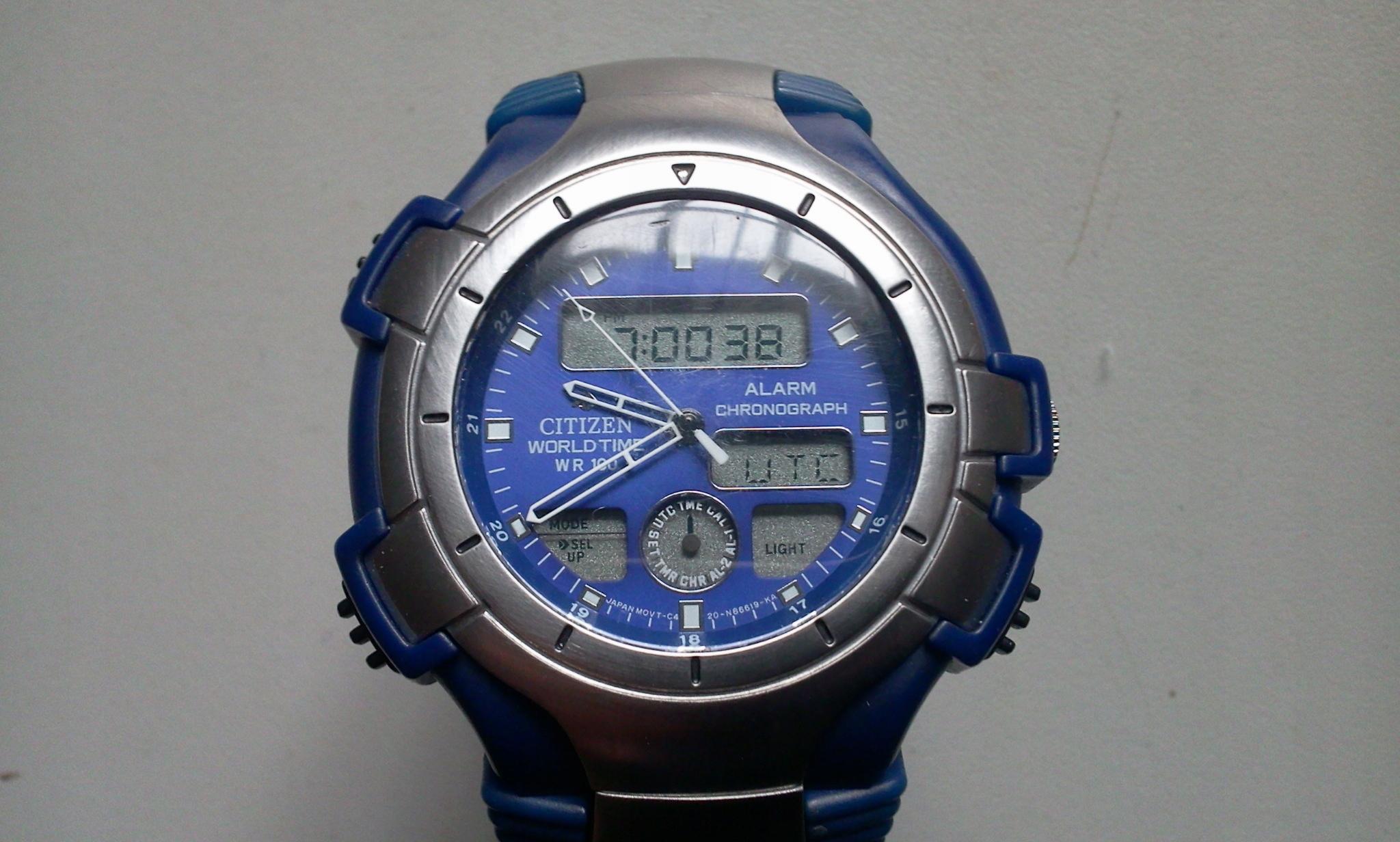 CITIZEN - PROMASTER - multifunction - zegarek