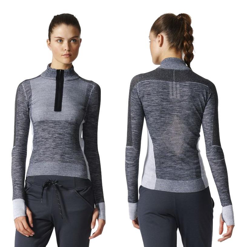 Adidas Primeknit Wool bluza damska biegowa - L