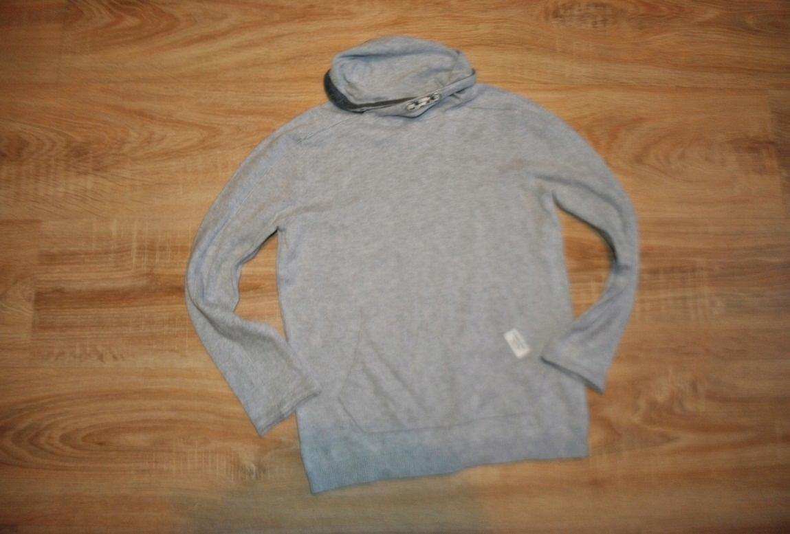ZARA stylowy szary sweterek 128