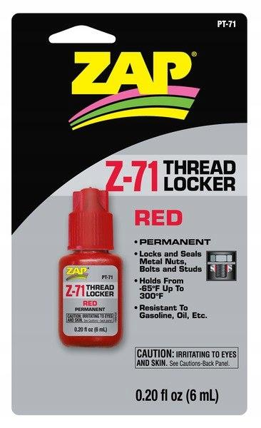 ZAP - THREADLOCEKR - Klej do śrub Z-71 (czerwony-m