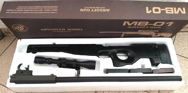 MB-01 AIRSOFT GUN KOMPLET