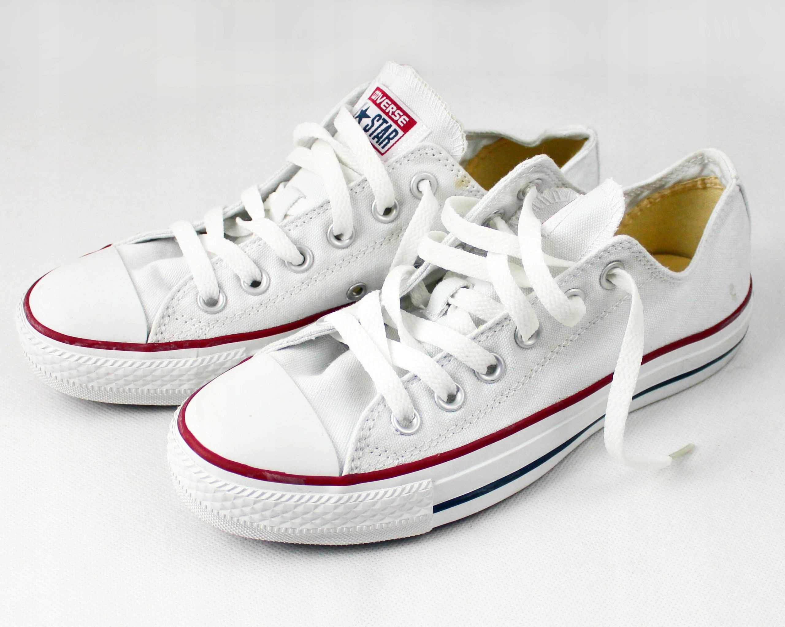 Converse AllStar r.39 białe niskie trampki - NOWE