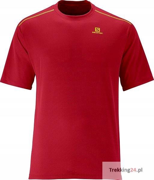 Koszulka Męska Salomon Stroll Tee Czerwona M