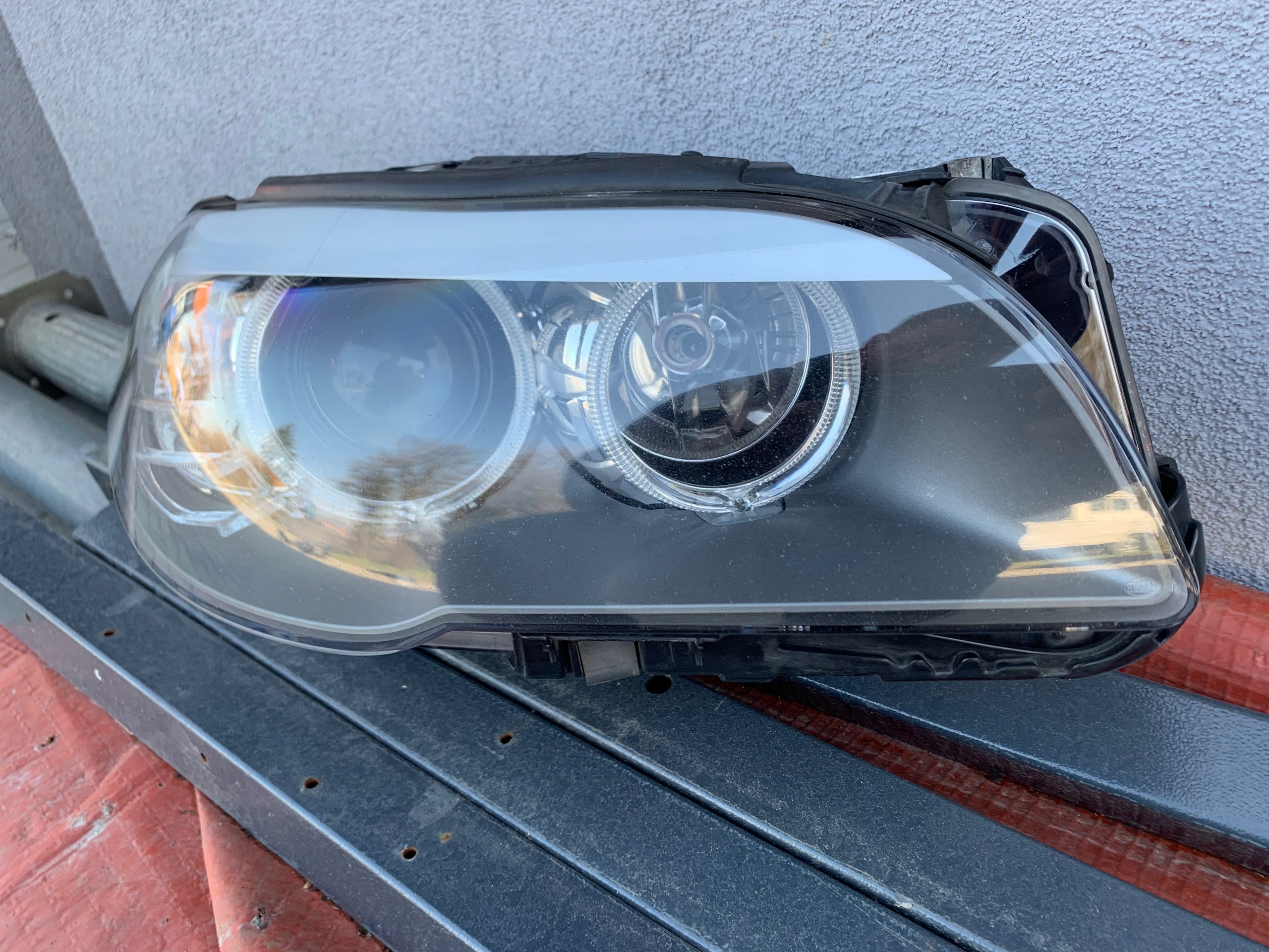 Lampy BMW 5 f10 oryginał H7 + sterownik