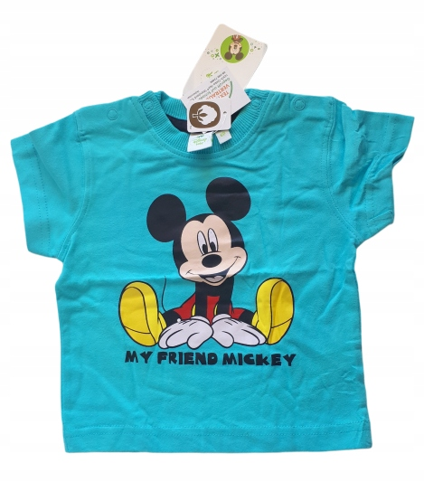 Disney nowa koszulka Miki 68