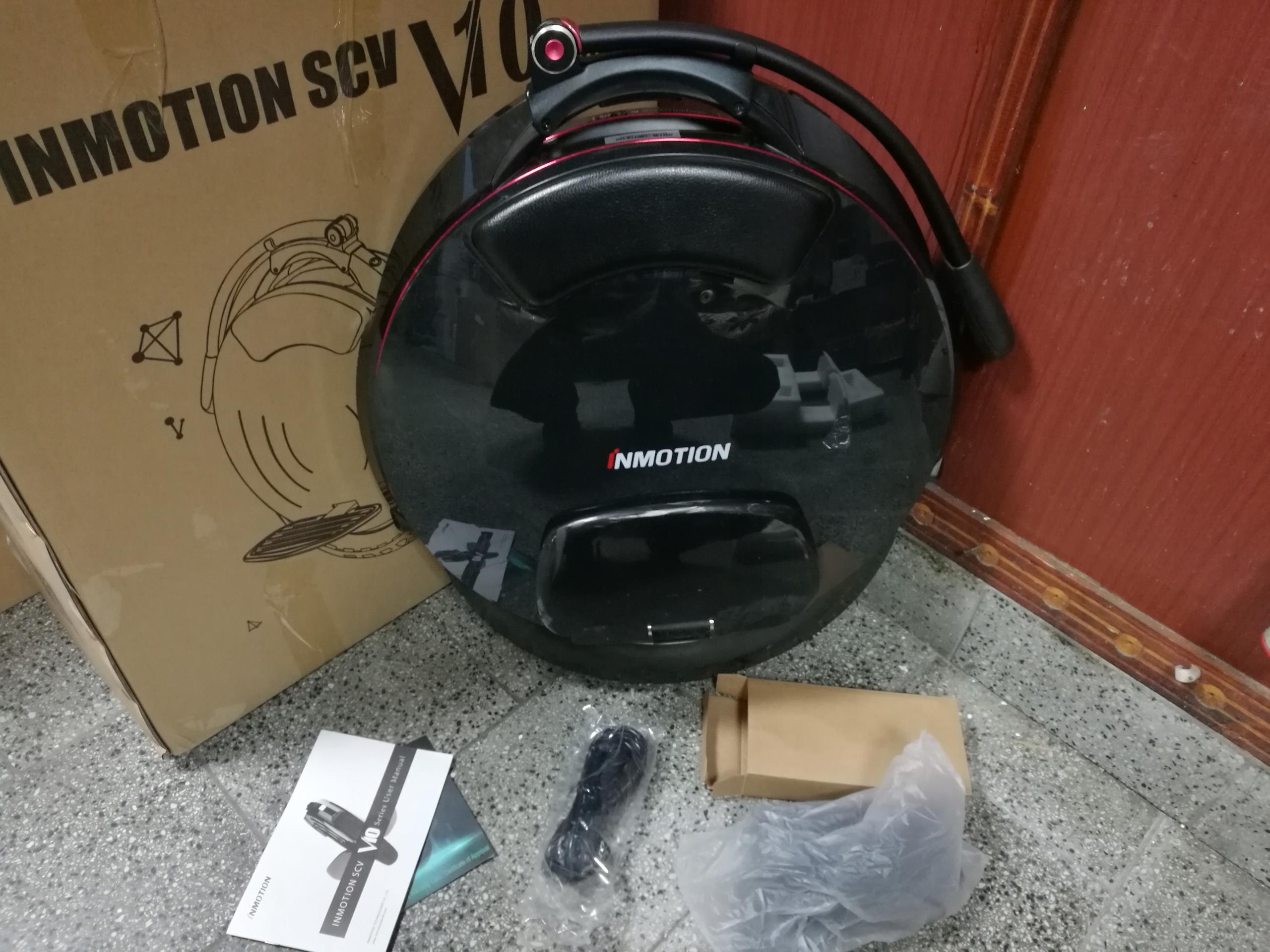 INMOTION V10F monocykl elektryczny | od 1zł - BCM