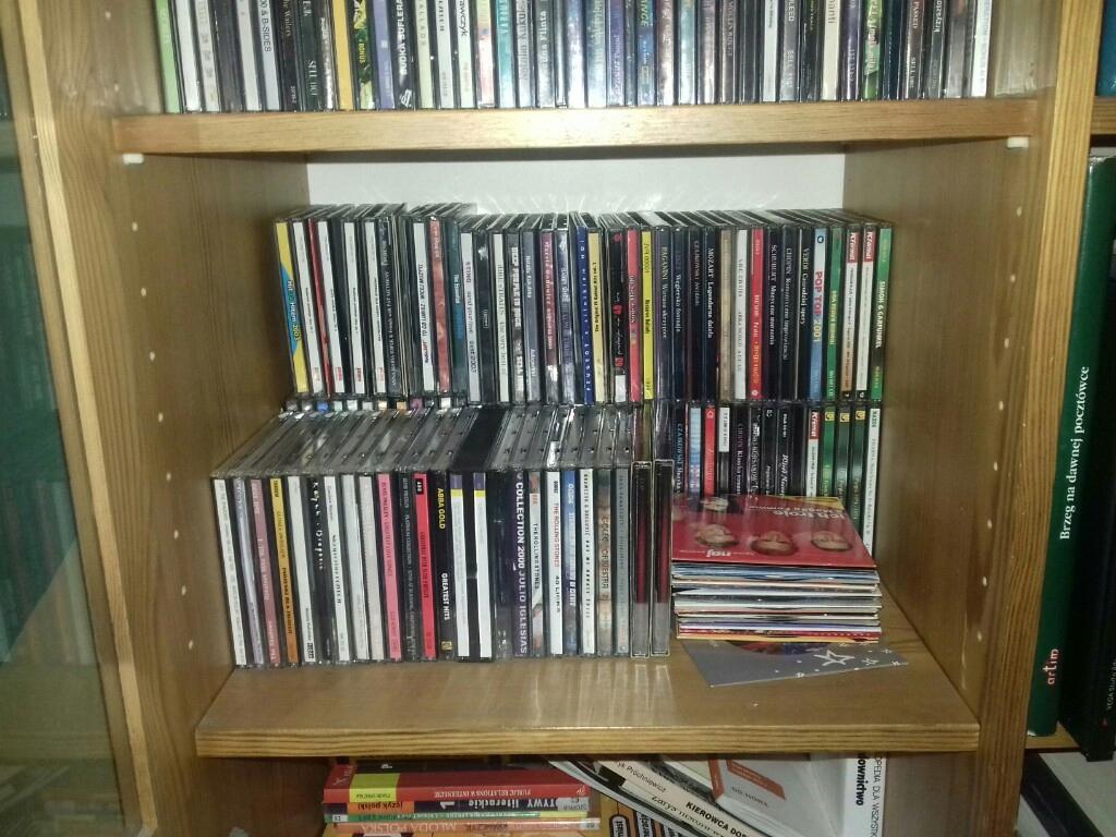 Płyty CD, kompaktowe