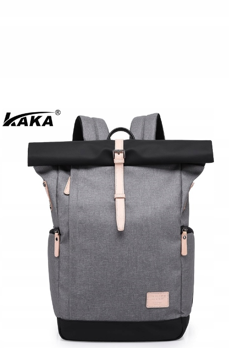 Plecak wodoodporny na laptopa KAKA 30L Szary (A)