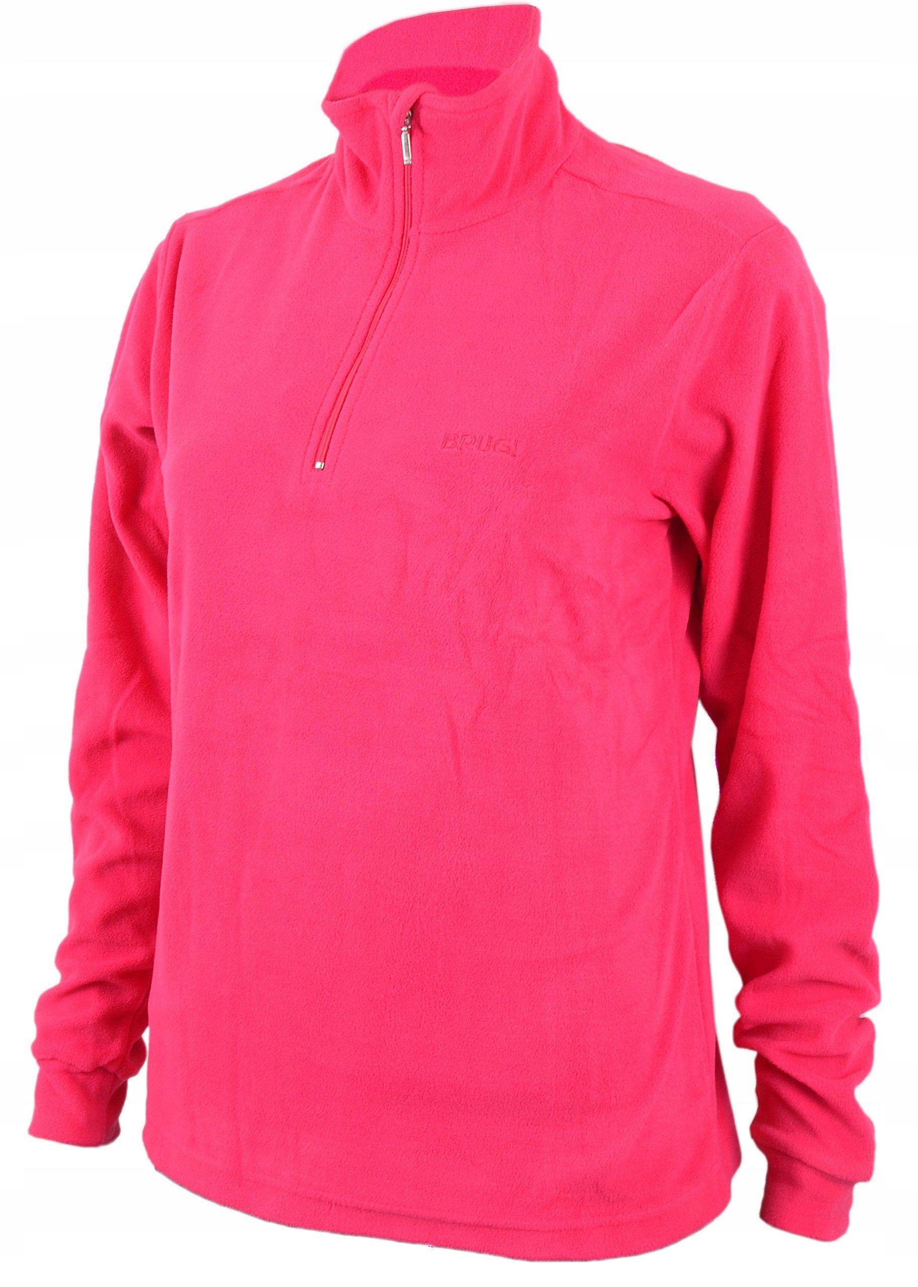 Damski polar BRUGI golf bluza polarowa ciepły XL