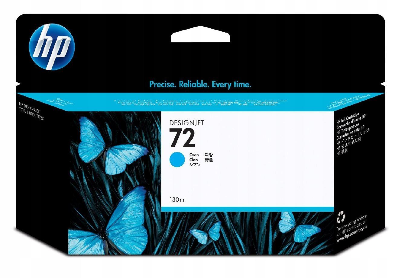 Tusz Nr 72 Błękitny (Cyjan) Fotograficzny 130ml
