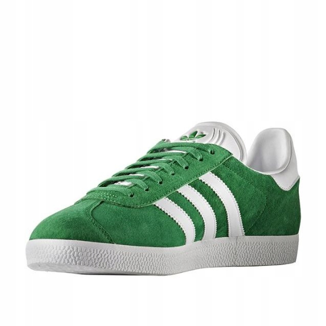 Zielone Skórzane Buty Sportowe Adidas rozmiar 44 23