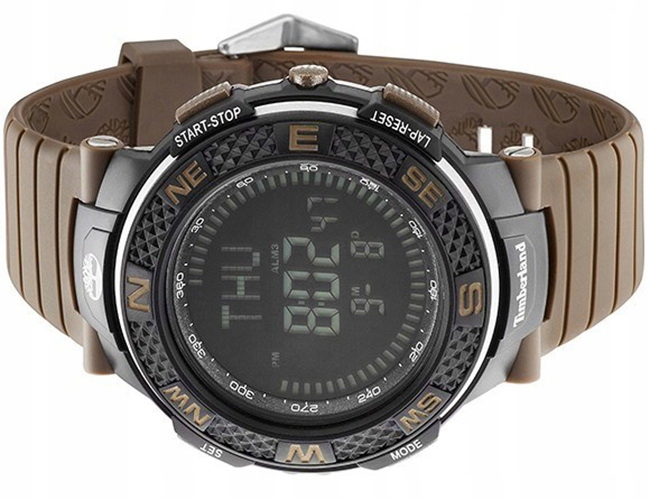 skate schoenen horloge 100% authentiek TIMBERLAND Zegarek męski czarny guma elektroniczny ...