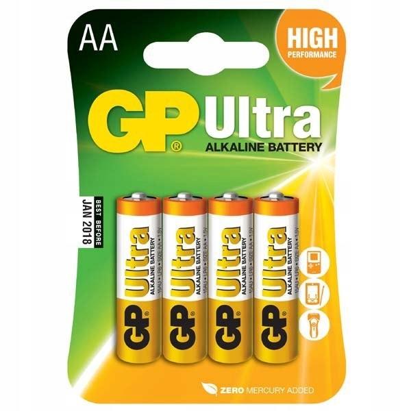 Bateria alkaliczna, AA, 1.5V, GP, blistr, 6+2 pack
