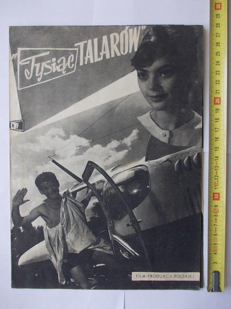 AN3 FILM POLSKI TYSIĄC TALARÓW ULOTKA PRL D93