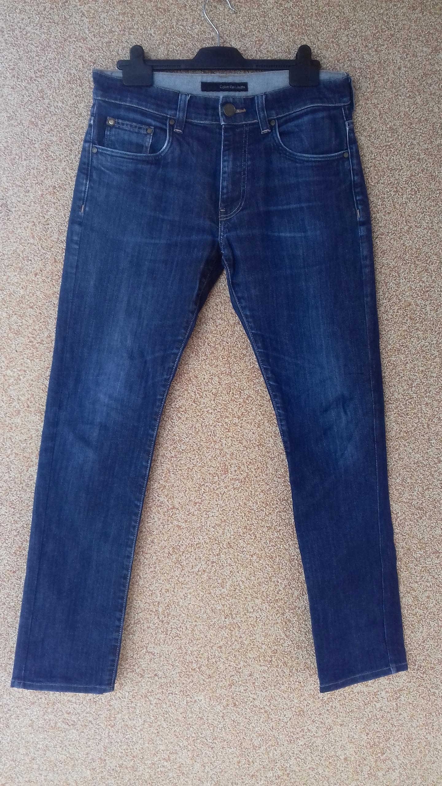 Calvin Klein Jeans SPODNIE MĘSKIE ROZMIAR: W30L34